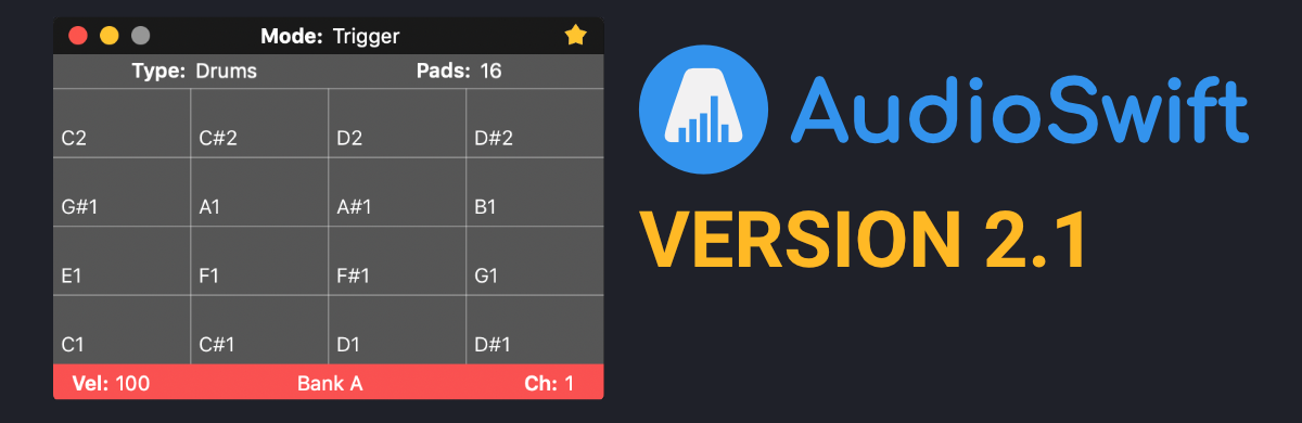 AudioSwift updated to version 2.1 + 30% Off Sale