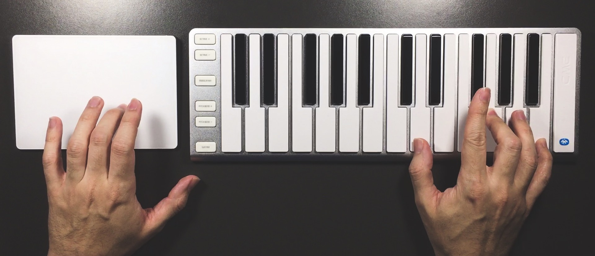 XY Pads for Sound Design with a Trackpad