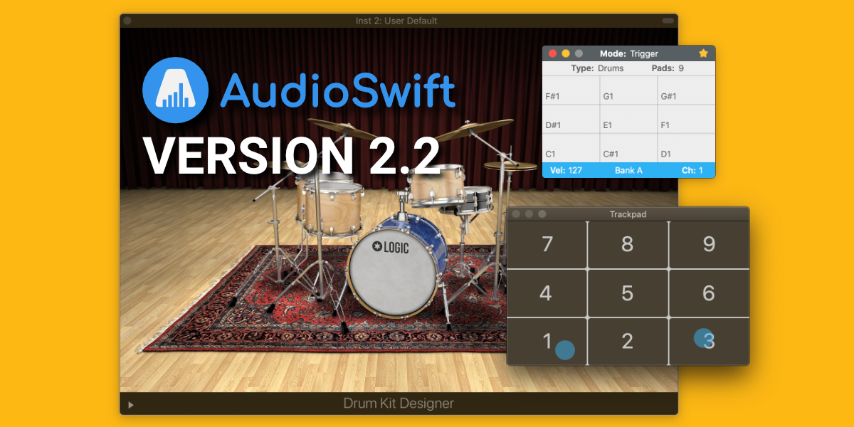 AudioSwift updated to version 2.2 – 30% Off Sale